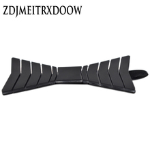 ZDJMEITRXDOOW 2017Brand new acrylic bow tie, bow tie, fashionable novelty Wedding Shirt, acrylic bow tie gift box packing(China)