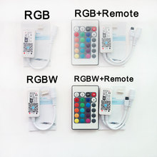 DC5-28V MINI RGB RGBW LED WIFI Controller by Smartphone IOS / Android For Strip Light(China)