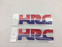 Motorcycle Accessory Decorative HRC Logo Stickers For Honda CRF CR XR CBR NEW Custom Decals