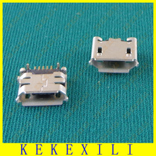 Common 5pcs New Micro USB Port Plug Socket for netbook/ tablet/ mobile phone /mp3/mp4/mp5 /HTC S710e G11(Ox horn)