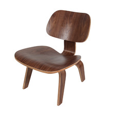 Modern Plywood Lounge Chair 2 Finish Walnut/Natural Low Lounge Chair For Living Room Furniture Wood Chairs Accent Wood Chairs