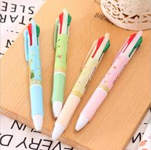 1 Piece Lytwtw's Korean Stationery Cute Christmas Gift 4 Colors Ballpoint Pens Student School Supply