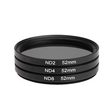 3in1 52mm Neutral Density ND Filter Set ND2 ND4 ND8 Filter Kit for Nikon For Sony for Canon EOS 7000 5100 5200 3100 3200 X DSLR
