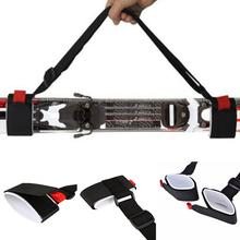 Outdoor Adjustable Ski Snowboard easy backpack cross country Pole Shoulder Hand Handle Straps Binding Protection Tie Board Tools(China)