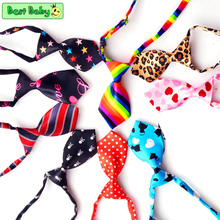 10pcs/lot Colorful Cheap Pet Dog Tie Bows Grooming Puppy NL-001 Cat Free Size Chihuahua Yorkshire Poodle Accessories Products(China)