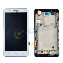 For Lenovo A536 LCD Display Touch Screen Digitizer Assembly With Frame For Lenovo A536 Display Original Replacement Parts