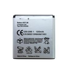 BST-38 BST 38 BST38 Phone Battery 930mAh replacement Batteries for Sony Ericsson W580 W580i w760 T650 X10 mini Pro