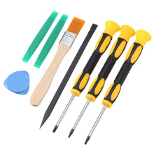 8pcs Torx Screwdriver Set T8 T6 T10 Opening Prying Repair Tool Kit Mayitr For Xbox One 360 PS3 PS4(China)