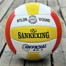 SANKEXING Volleyball Soft Volleyball Balls Outdoor Handball Beach Ball PVC Volleyballs ball official Size 5 balloons For Indoor(China)
