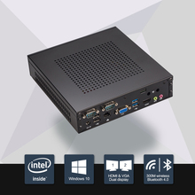 8GB Ram 120GB SSD 2016 New Celeron j1900 mini pc quad core fanless pc with VGA HDMI support window 10/ windows 7/Linux/Ubuntu