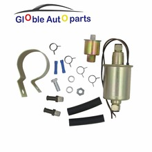 12V Universal Low Pressure Electric Fuel Pump Installation Kit 30GPH 5-9 PSI For Cars Trucks Buick Ford Jeep Cadillac E8012S(China)