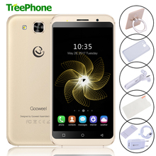 Original Gooweel S8 Quad Core cell phone 5.3 inch IPS HD 1GB+8GB 3G mobile phone Android 5.1 WIFI 5.0MP+5.0MP Camera Smartphone(China)