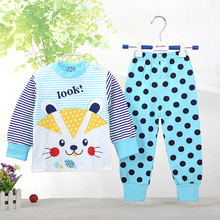 1-2-3-4 years old children's long johns autumn winter baby kids girl's boy's thermal underwear long john clothes pants(China)