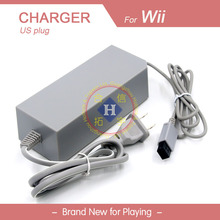 US Power supply AC Adapter charger For Wii Console 100V-240V