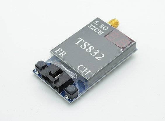 Boscam TS832 32Ch 5.8GHz 600mw 5km Wireless AV TX FPV Transmitter w/ 2 AV Cable<br>