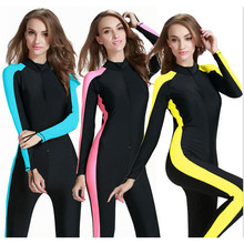 Sbart UPF 50+ female wetsuit plus size surf suit full body swimwear surf protect dry suit dive skin suit wet suit for swimming