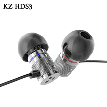 KZ HDS3 Mini HIFI Earphone In Ear Monitors With Microphone Universal Wired Music Headphones For Iphone Samsung Xiao PK RAZER(China)