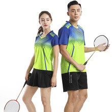 Free printing Badminton sets Men/Women's , sports badminton clothes , Tennis wear , Tennis wear sets , 1 set 211#(China)