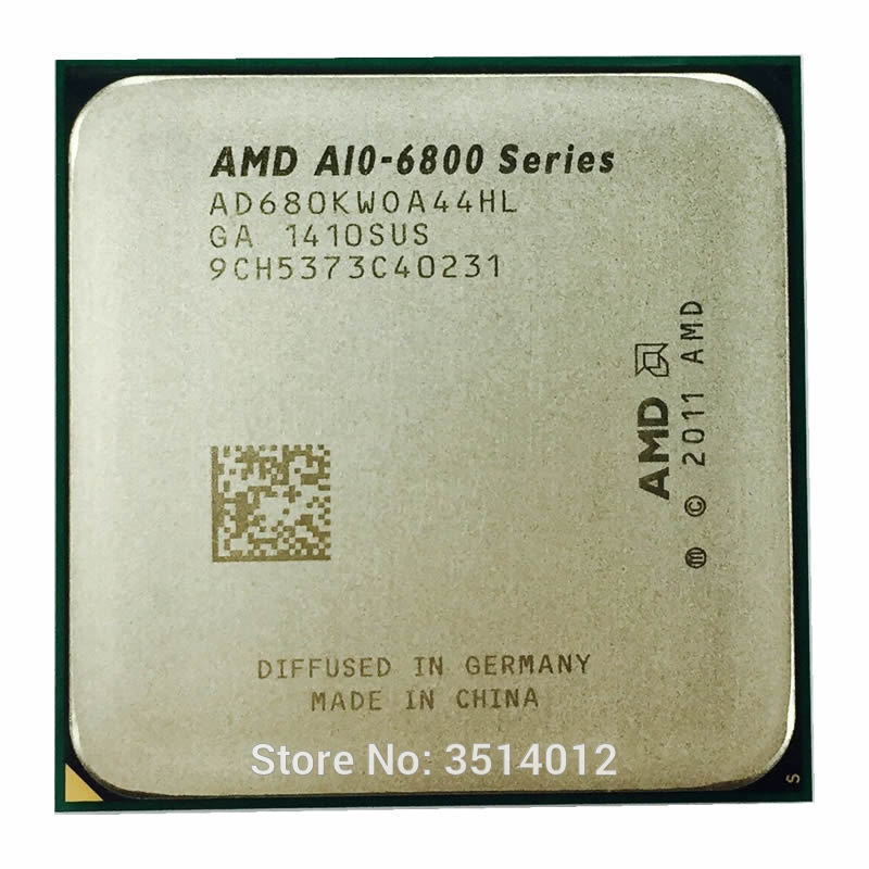 AMD CPU A10-6800K Quad-Core FM2 A10-Series Processor-Ad680kwoa44hl/ad680bwoa44hl-Socket title=