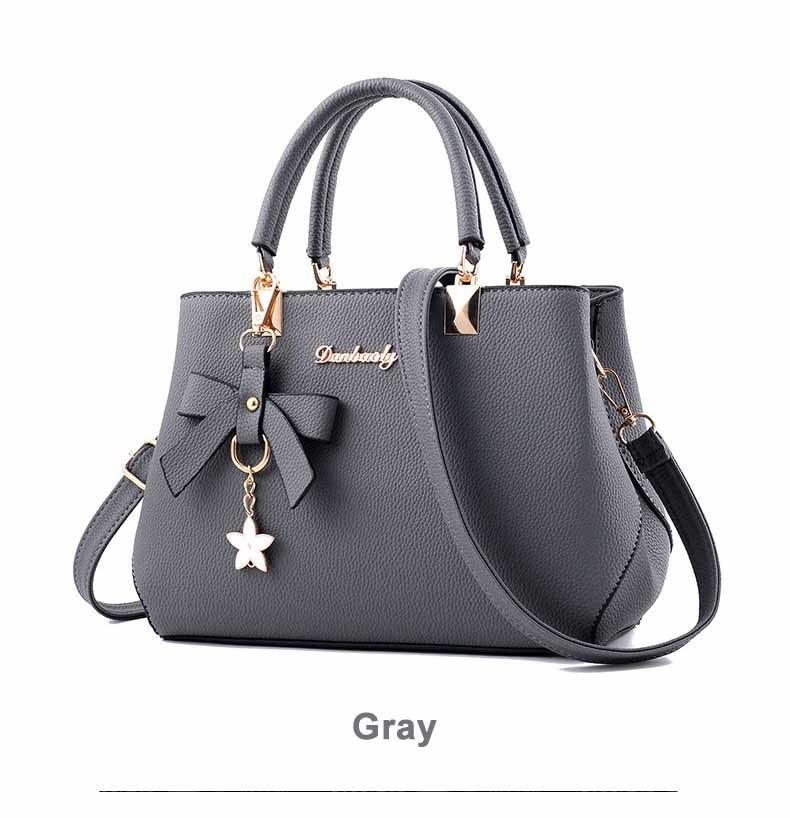 WENYUJH New 18 Elegant Shoulder Bag Women Designer Luxury Handbags Women Bags Plum Bow Sweet Messenger Crossbody Bag for Women 17