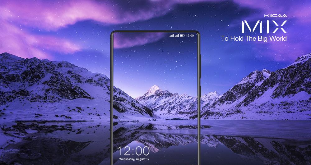 "LEAGOO KIICAA MIX 5.5"" Full Screen Android 7.0 MTK6750T Octa Core Smartphone 3GB RAM 32GB Dual Back Cameras Fingerprint 4G Phone"