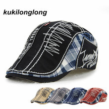 kukilonglong berets for men women camouflage gorras fashion flat caps golf sports sunblock gorras curved brim hats cheap cap(China)