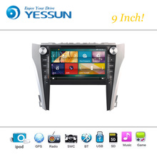 Car DVD Player Wince System For Toyota Camry 2015-2016 Autoradio Car Radio Stereo GPS Navigation Multimedia Audio Video