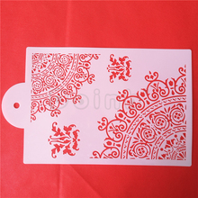 Lace Cake Stencil Fondant Cake Border Decoration Stencils Party Wedding Cake DIY Decor Tools