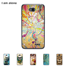 For LG L65 D280 L70 D320N inch Cellphone Cover Mobile Phone Protective Skin Color Paint Bag Shipping Free