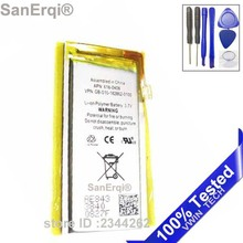 Free Tools Brand New 3.7V Li-ion Polymer Battery Replacement for iPod Nano 4 4th Gen SanErqi Battery