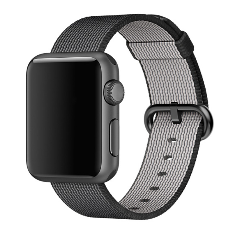 Sport woven nylon band strap for apple watch 42mm 38mm wrist braclet belt fabric-like nylon watchband for iwatch 2/1/Edition <br><br>Aliexpress