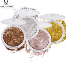 Low Glossy High Gloss White Concealer Cheek Reinforced Silhouette Repair Powder Highlighter Silver Gilt Fluorescent Palette 10g