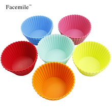 12 PCS Gigt Baking Molds Jelly Mold Silicon Cupcake Pan Muffin Cup Gigt Muffin Chocolate Cupcake Liner Baking Cup Mold 53064