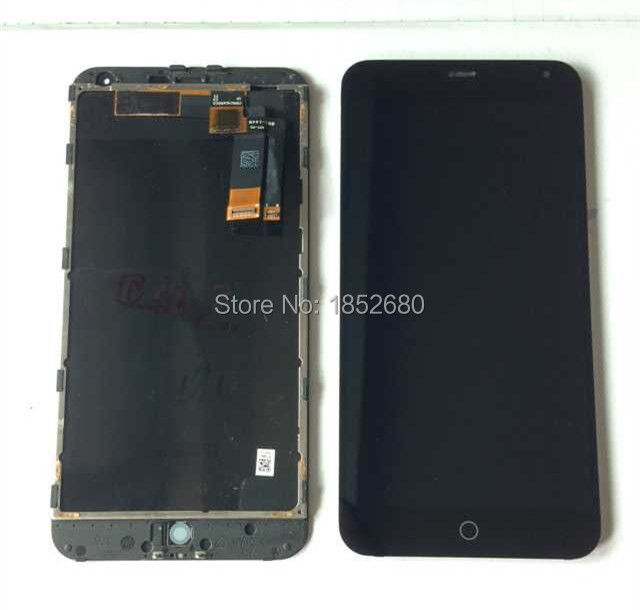 LCD screen display+touch digitizer with frame For 5.5 Meizu M1 note Meilan Note black free shipping<br><br>Aliexpress
