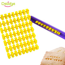Delidge 1 Set 26 English Letter Cookie Mold Printing Symbol Stamp Biscuit Cookie Cutter Cake Fondant  Mold DIY Baking Tools
