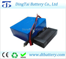 Customized Rechargeable battery 24V 20ah li-ion battery pack with charger and BMS(China)