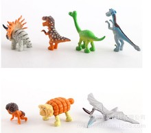 Anime Cartoon The Good Dinosaur PVC Figures Kids Childrens Toys Gifts 5set (7pcs/set) Y10489