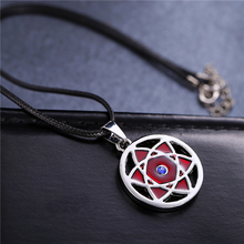 Buy HOT anime Naruto hollow Uchiha Madara Mangekyou Sharingan necklace male Jewelry Best Gift Friends cosplay accessories for $1.45 in AliExpress store