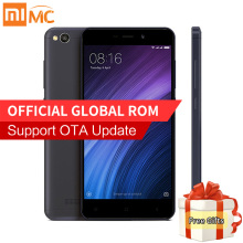 Original Xiaomi Redmi 4A Mobile Phone Snapdragon 425 Quad Core 2GB 16GB or 32GB 13.0MP Camera 5.0 Inch Display MIUI 8.1 3120mAh