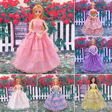 Dress Up Doll Dress Wedding Dress 29-30cm(11.4-11.8in) 5 Joint 12 Joint Wearable Girl Toy
