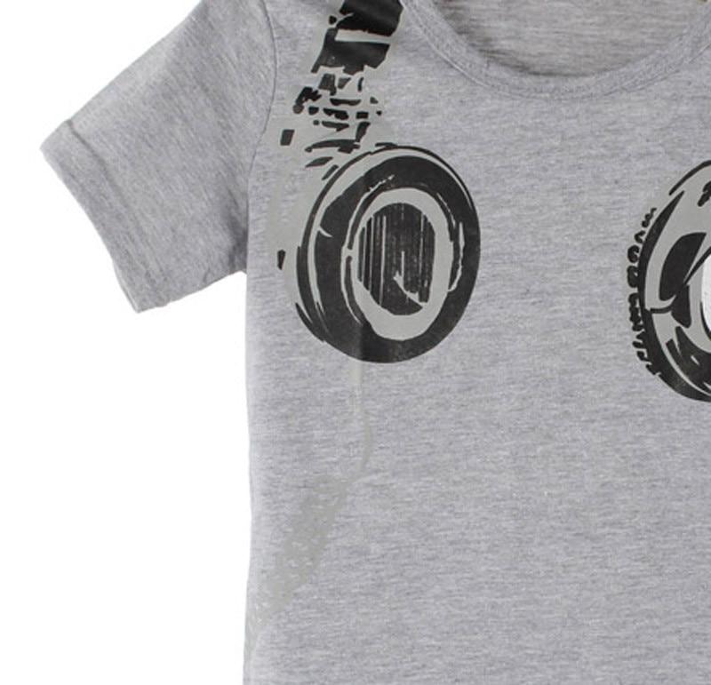 Toddler Boy Headphone Print Children T-shirts 24