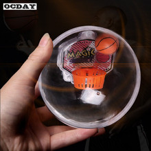 OCDAY Mini Flash Handheld Basketball Toys Shoot Device LED Flash Music Basket Game Reduce Pressure Fidget Kids Toy Christmas Hot