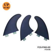 New Design FCS Fin Blue Fiberglass Quillas SUP Surfboard Fin G5 Fins in Surfing