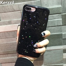 Buy Kerzzil Bling Glitter Soft Silicone Case iPhone 6 6S Sky Stars Shining Phone Cover iPhone 6 7 6S Plus Back Coque for $1.81 in AliExpress store