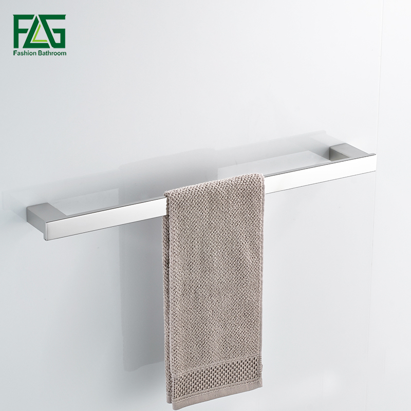 FLG Single Towel Bar/Towel Holder,304# Stainless Steel Made,Mirror Polished, Bathroom Hardware,Bathroom Accessories G120-03N<br>