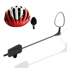 Buy Black Adjustable Bike Bicycle Cycling Rear View Helmet Safety Motorcycle Rearview Mini Mirror (Not Include Helmet) for $4.08 in AliExpress store