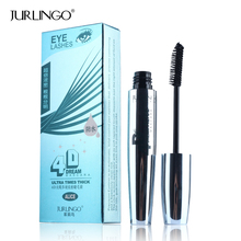 JURLING Brand Black 4D Mascara Makeup Long Lasting Waterproof Curling Lengthening Eye Lash Thick Volume Mascara Eyelash Cosmetic(China)
