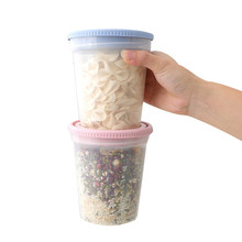 Home Sealed Transparent PP Storage Box Whole Grains Beans Storage Contain Sealed Kitchen Food Container Storage Box(China)