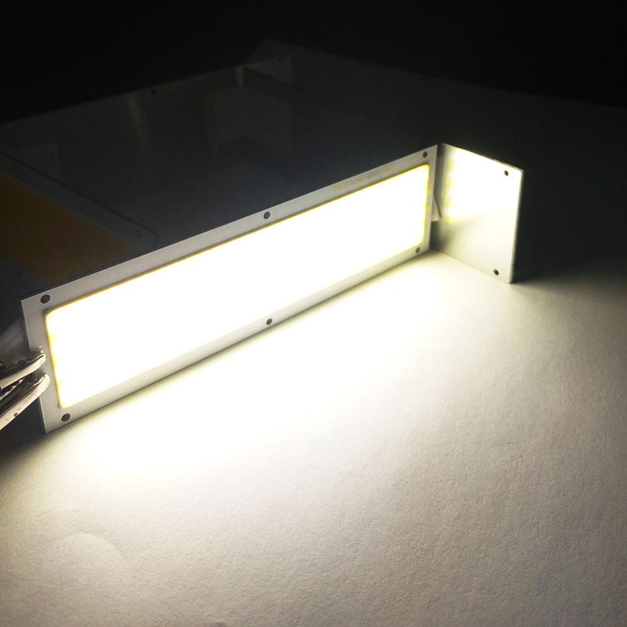 Ultra Bright 1000LM 10W COB LED Light Strip 12V DC for DIY Car Lights Work Lamps Home Bulbs 12036MM LED Chip (12)