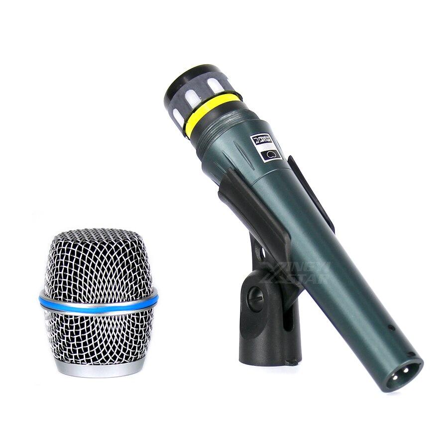 BETA87 Professional Handheld Dynamic Wired Microphone For Computer BETA 87C 87 Studio Mic Microfone Karaoke Mixer DJ Amplifier
